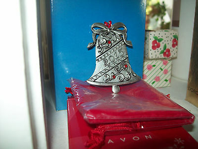 Avon Pewter Christmas Ornament 2015  NIB