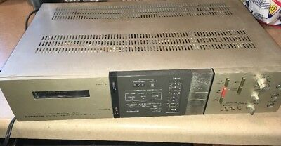 Vintage Pioneer CT-6R Stereo Cassette Deck-Tested - For Parts or Repair