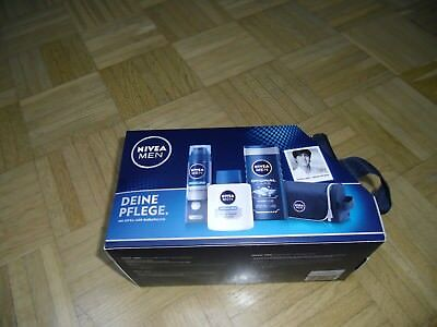 NIVEA MEN Pflege-Set mit Nivea Men Kulturtasche