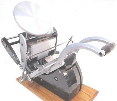 Adana 8X5 Letterpress With Boxcar Photo Polymer  Base Printing C&p Excellent !