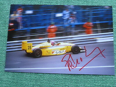 Original signed Autogramm Pedro Lamy Formel Formula 1 GP Grand Prix rar signed