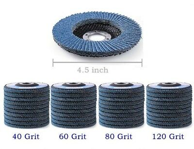 "High Density 4.5"" Flap Disc Grinding Wheel Free Shipping - 20Pack"