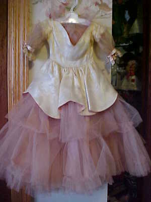 "Original  Pink Tulle & Satin Formal For 24"" Sweet Sue"