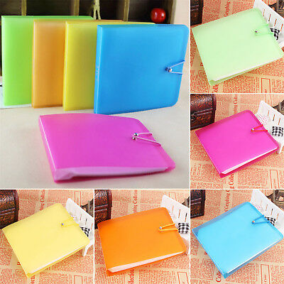 12 Sleeves CD DVD Ray Disc Carry Wallet Sweet Case Holder Storage Cover Bag GUT