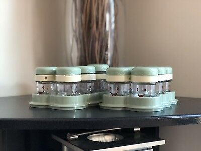 6 Baby Bullet Food Storage Jars Cups Containers & Tray