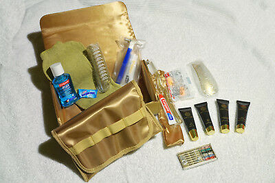 OMAN AIR Business Class Amenity Kit Kulturbeutel AMOUAGE