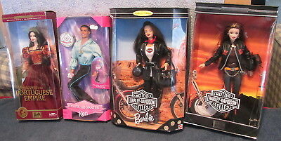 Lot Of Contemporary Barbie & Ken Dolls~Most Sealed~2 Harley Davidson~Visions~WOW
