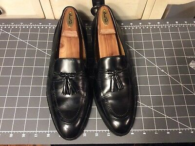b272a59351bbe Giorgio Brutini Men s Sz10.5D Black patent leather Loafers with Tassle