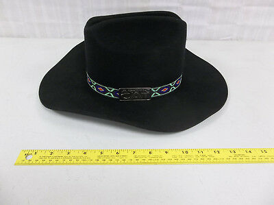 RARE Arctic Cat  Cowboy Hat black suede collectible hat not sure on year