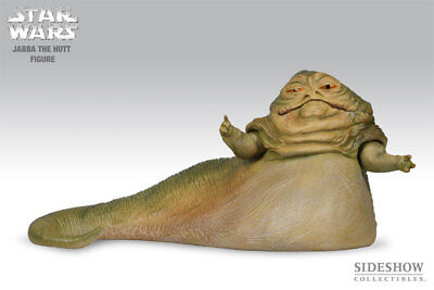 *** J A B B A *** SIDESHOW *** in Hot Toys 1/6 scale *** STAR WARS *** JABBA