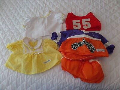 Small Lot Of  Cabbage Patch Clothes For Boy & Girl