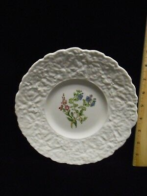 "Royal Cauldon Bristol Ironstone ""Speedwell"" Plate, 9 1/4"" Diameter X 1"" High"