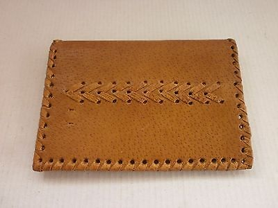 Antique Vintage Leather  Mens Purse, Wallet - Handmade