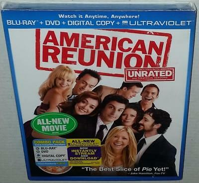 American Pie Reunion Unrated (2012) Brand New Sealed Region Free Bluray + R1 Dvd