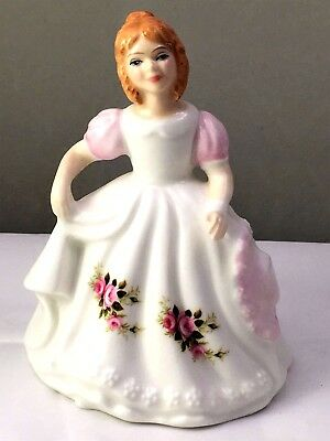 "ROYAL DOULTON FIGURINE ""FIGURE OF THE MONTH - JUNE"" HN 3323- Ca:1990 - EXCELLENT"