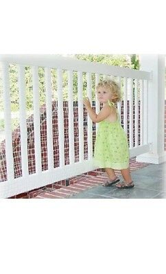 KidKusion KidSafe Deck Guard , New, Free Shipping 16ft Pack Of 4