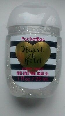 * Bath & Body Works Heart of Gold - Berry Sweet Anti Bacterial Hand Gel *