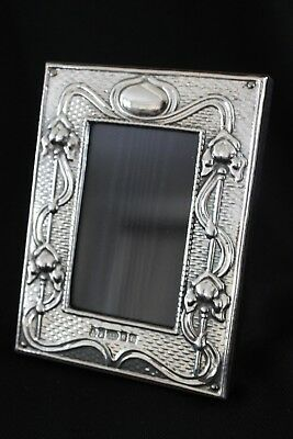 Superb Finest Quality 999 London Sterling Silver Photo Frame Art Nouveau Style
