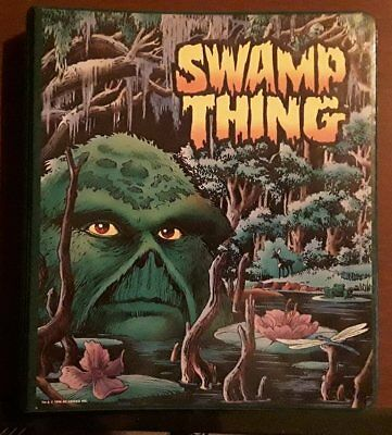 RARE Swamp Thing Visual Style Guide Binder w/ 48 pages OOAK? Alfredo Alcala DC