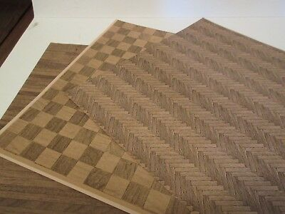 Miniature Dollhouse Wallpaper J Hermes Wood Flooring Assortment #3  1:12 scale