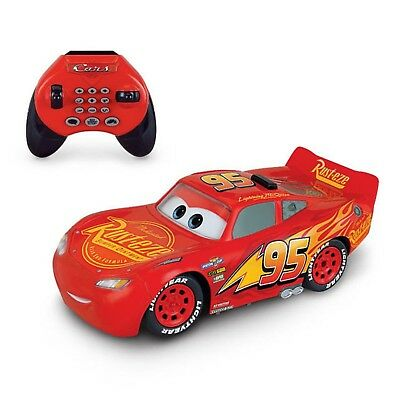Disney Pixar Cars 3 Remote Control Car U Command Lightning McQueen RC Ages 4+