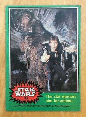 1977 Topps Star Wars Cards Green Series 4 Full Set of 66/66 Vintage No Stickers