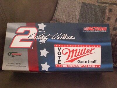 Rusty Wallace 1/24 Vote For Miller 2004 Intrepid Action