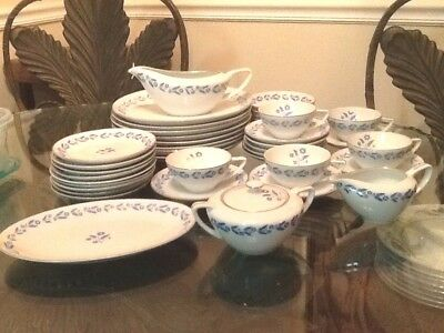 Symphony In Blue Fine China Household Japan