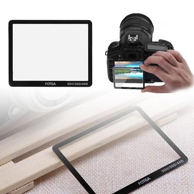 Camera Screen Film Protector Optical Glass LCD Case for Canon 40D 50D 5D MARK II