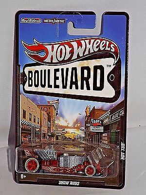 Hot Wheels Boulevard Series Show Rods Hot Tub Brown w/ Real Riders