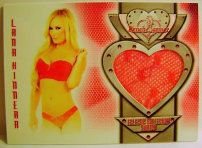 Lana Kinnear Bench Warmer Authentic Swatch 2014 #44 Eclectic Collection Rare