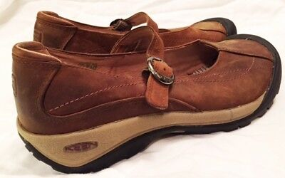 Keen Shoes Womens Size 10.5 53005 Keen Toyah Mary Jane Shoes Slip On Leather