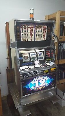 IGT S2000 Twelve Times Pay Slot Machine - Coinless - Other game titles available