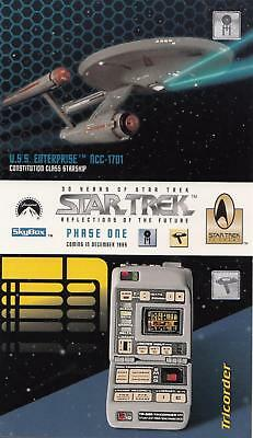 30 Years of Star Trek Phase One Reflections of the Future promo card 1995
