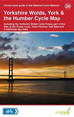 Yorkshire Wolds, York & The Humber Cycle Map 28 (Sustrans) | Sustrans