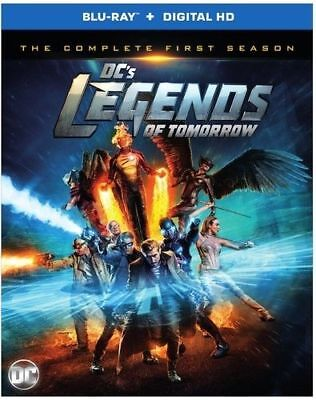 Dc's Legends Of Tomorrow: The Complete First Season Blu-ray New Sealed