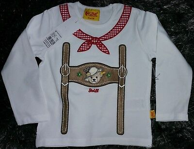 STEIFF Collection Baby Jungen LA-Shirt Gr.80 Mini Wies'n Boy Neu NP 29,95,- Euro