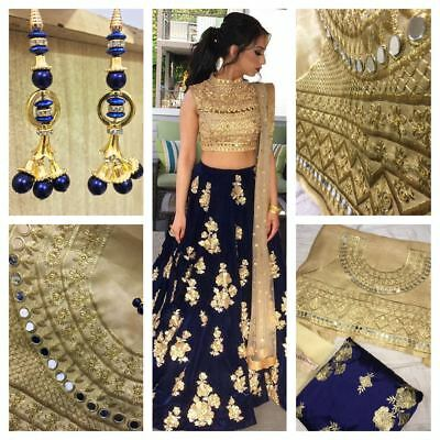 Pakistani Bridal Lehenga Choli Indian Designer Wedding Party Wear Lehenga 121