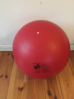 Sitzball rot Togu 65cm Made in Germany