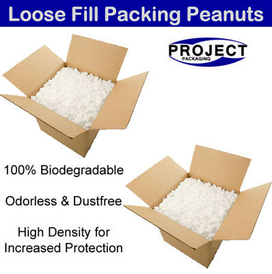 3 Cubic Ft Eco Flo Biodegradable Loose Fill Packaging Peanuts High Density