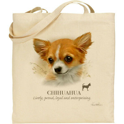 Ideal Present Reusable bag Pomeranian Gift For Dog Lovers Howard Robinson Animal Artist Quality Canvas Gusseted Tote Shopper