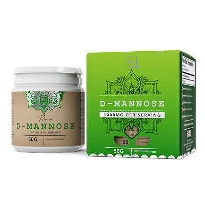 D-Mannose Pure Powder | 100/300/600g | Urinary Tract Infections | Vegan Friendly