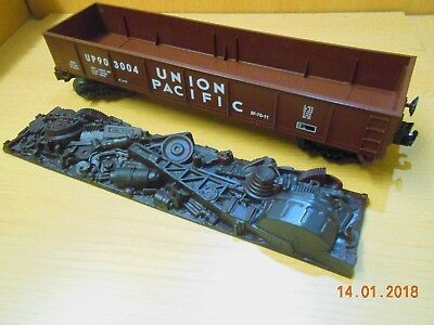 Lionel Spur 0 offener US Güterwg.BF-70-11 * UNION PACIFIC * sauber ohne Verp.