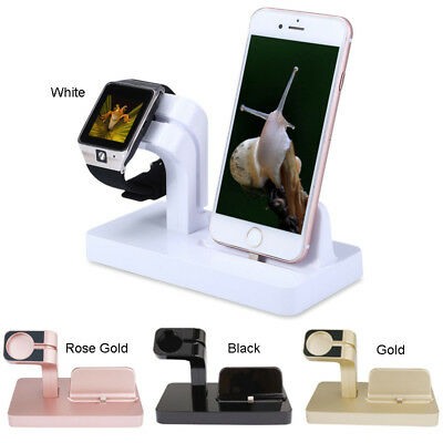For Apple Bracket Charging Holder Station Stand Series Dock Phone Watch Charger