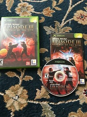 Star Wars Episode III Revenge Of The Sith Xbox Spiel
