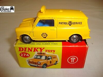 DINKY 274 AA MINI VAN - EXCELLENT in original BOX