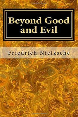 Beyond Good and Evil by Friedrich Nietzsche Paperback Book Free Shipping New