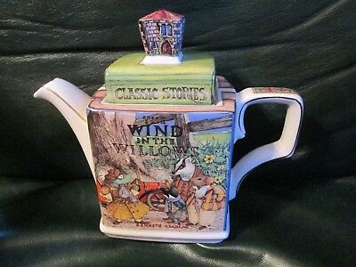 James Sadler Wind in the Willows Teapot Tea Pot Classic Stories Made in England