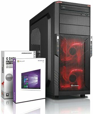Ultra i7 DX12 Gaming-PC Computer i7 920 - GeForce GT 1030 - Win10 - 8GB - 500GB