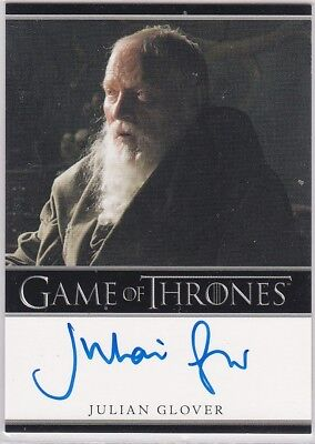 Game Of Thrones Season 1 Julian Glover Grnd Maester Pycelle Autograph Bordered